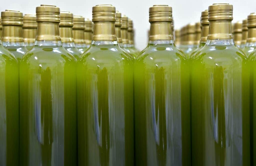 cloudy olive oil