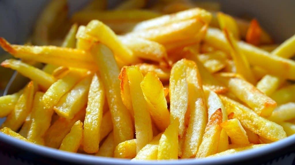 chipped potatoes