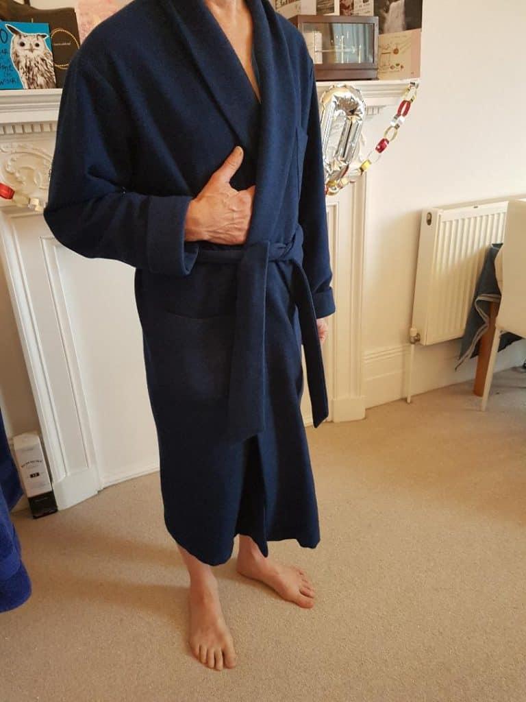 Best Bonsoir men's dressing gown