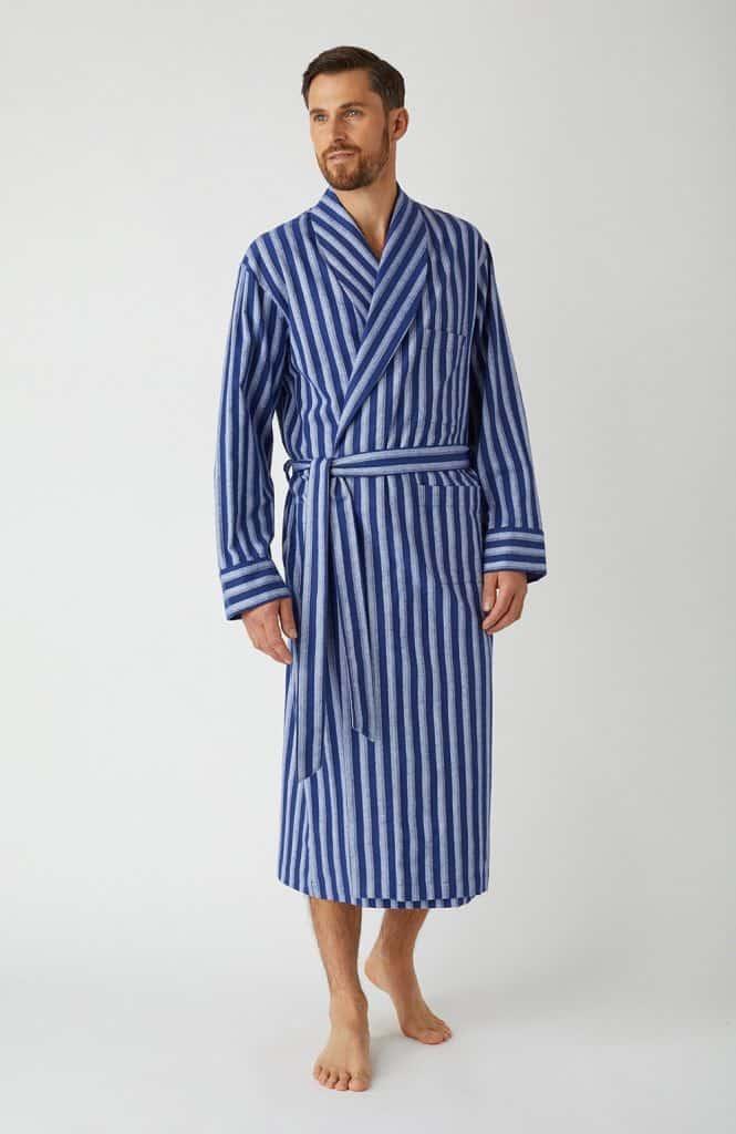 Bonsoir cotton men's dressing gown