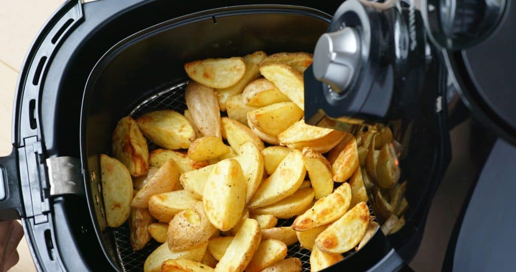 cooking chips using an air fryer