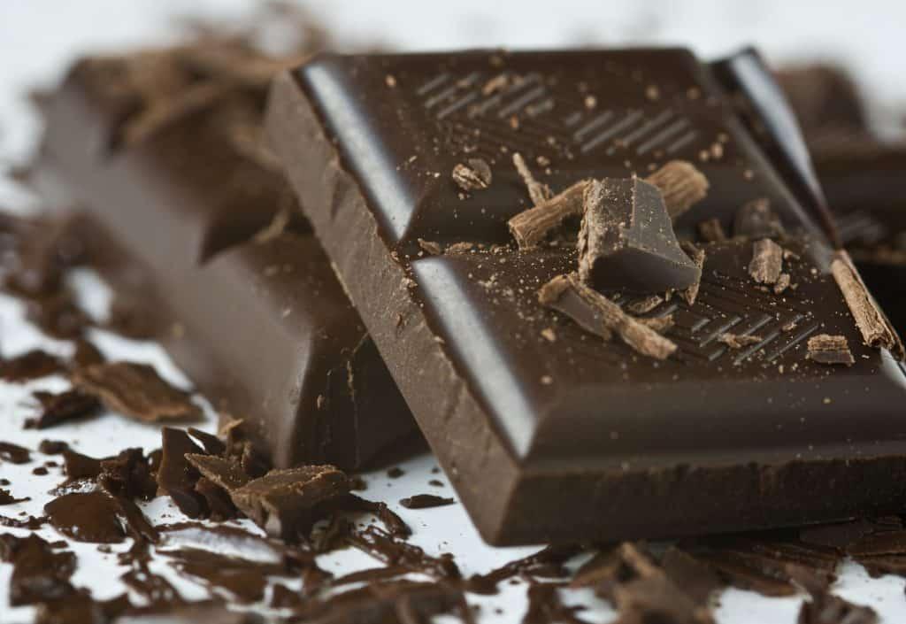 blocks of cooking chocolate