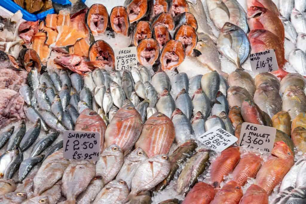 a fishmonger in UK